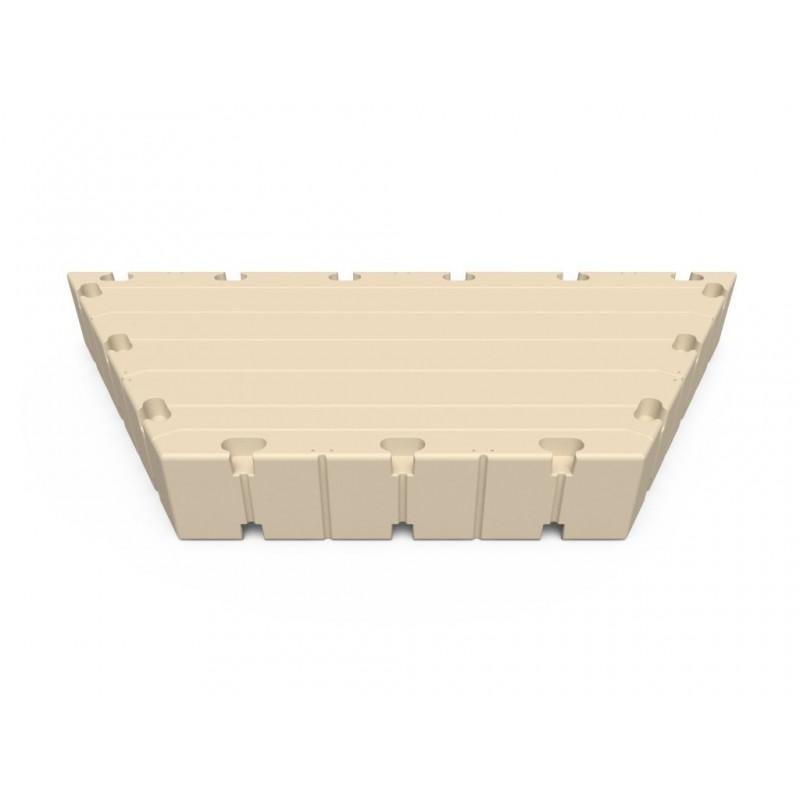 Hexagonal seksjon 1,5m X 3m