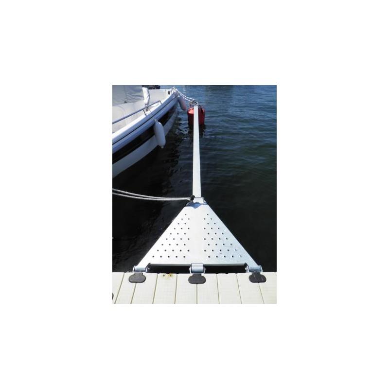 y-bom - Utrigger 6,0m for Tre og betongbrygge
